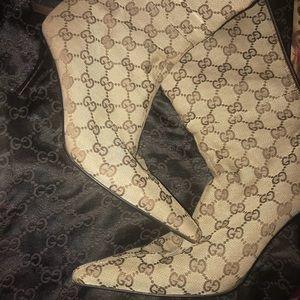 Authentic Gucci calf boots